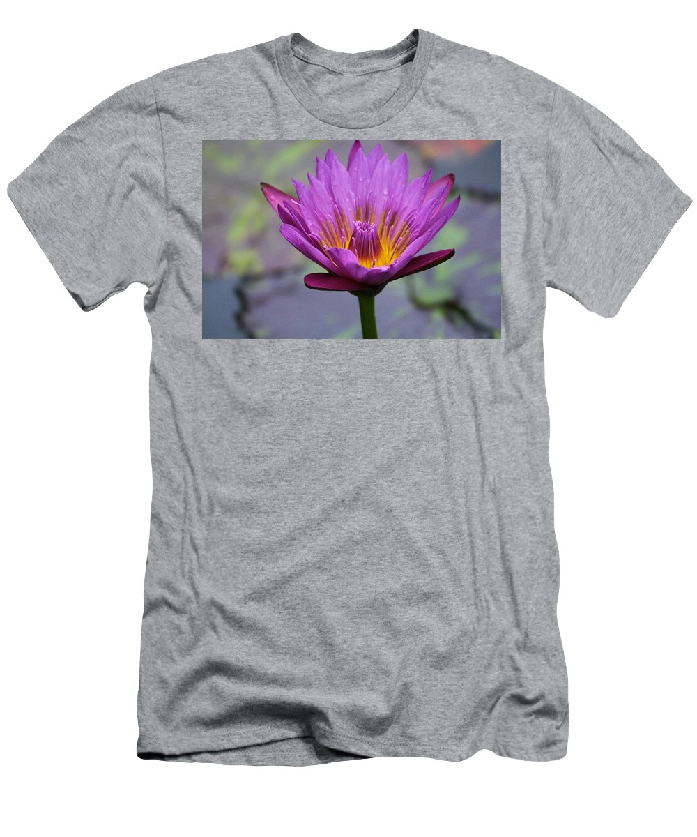 Nature Men's T-Shirt (Athletic Fit) featuring the photograph Flower 5 by Lisa Spero