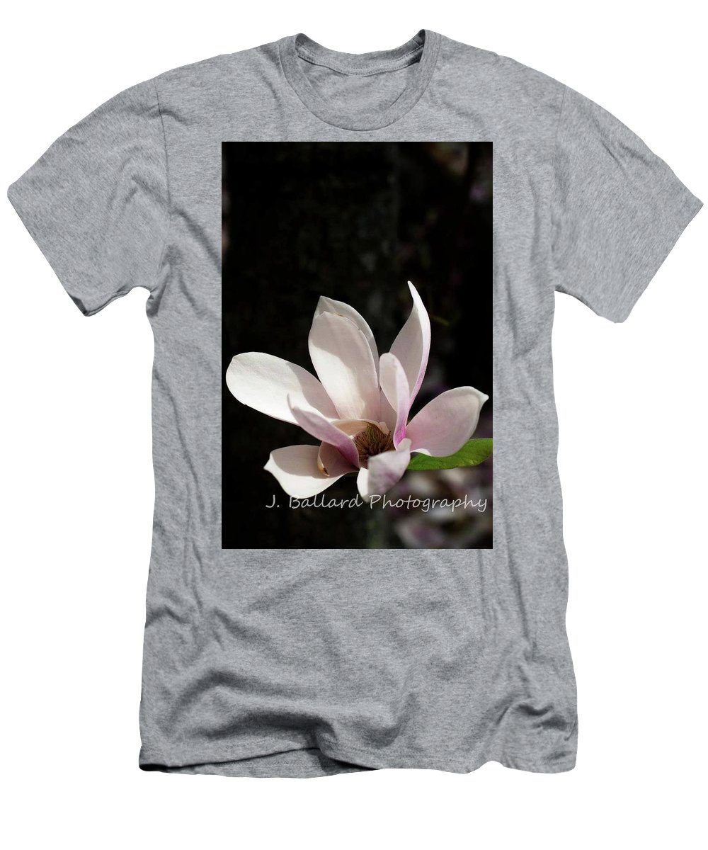 Flower Men's T-Shirt (Athletic Fit) featuring the photograph Flower by Jill Ballard