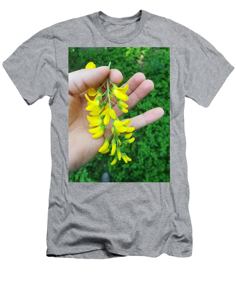 Men's T-Shirt (Athletic Fit) featuring the photograph Flowers by Daniela Buciu