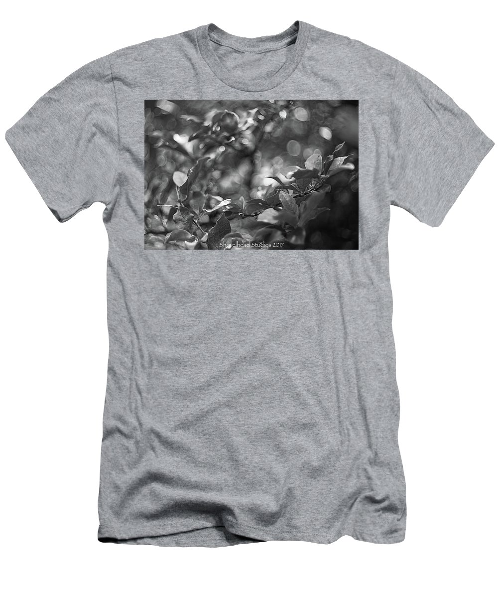 Flowers Men's T-Shirt (Athletic Fit) featuring the photograph Flowers by Gary Brown