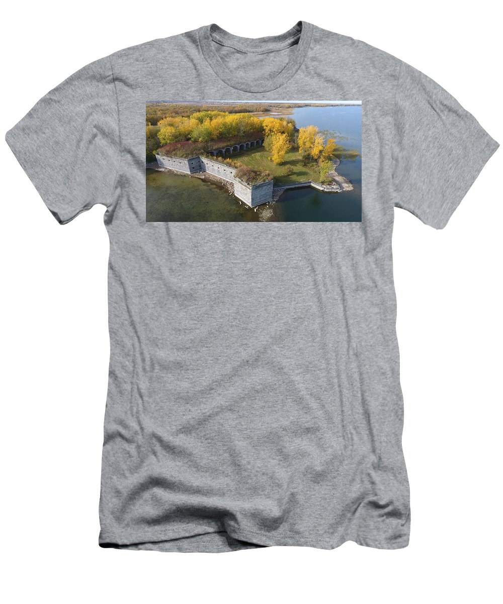 Fort T-Shirt featuring the photograph Fort Montgomery Fall by Jedidiah Thone