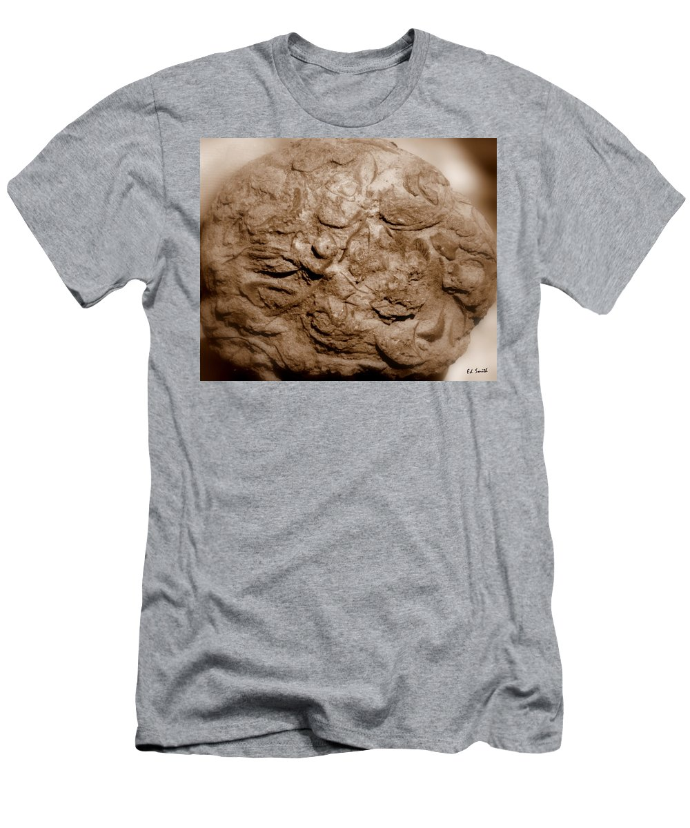 Fossil Family Men's T-Shirt (Athletic Fit) featuring the photograph Fossil Family by Ed Smith