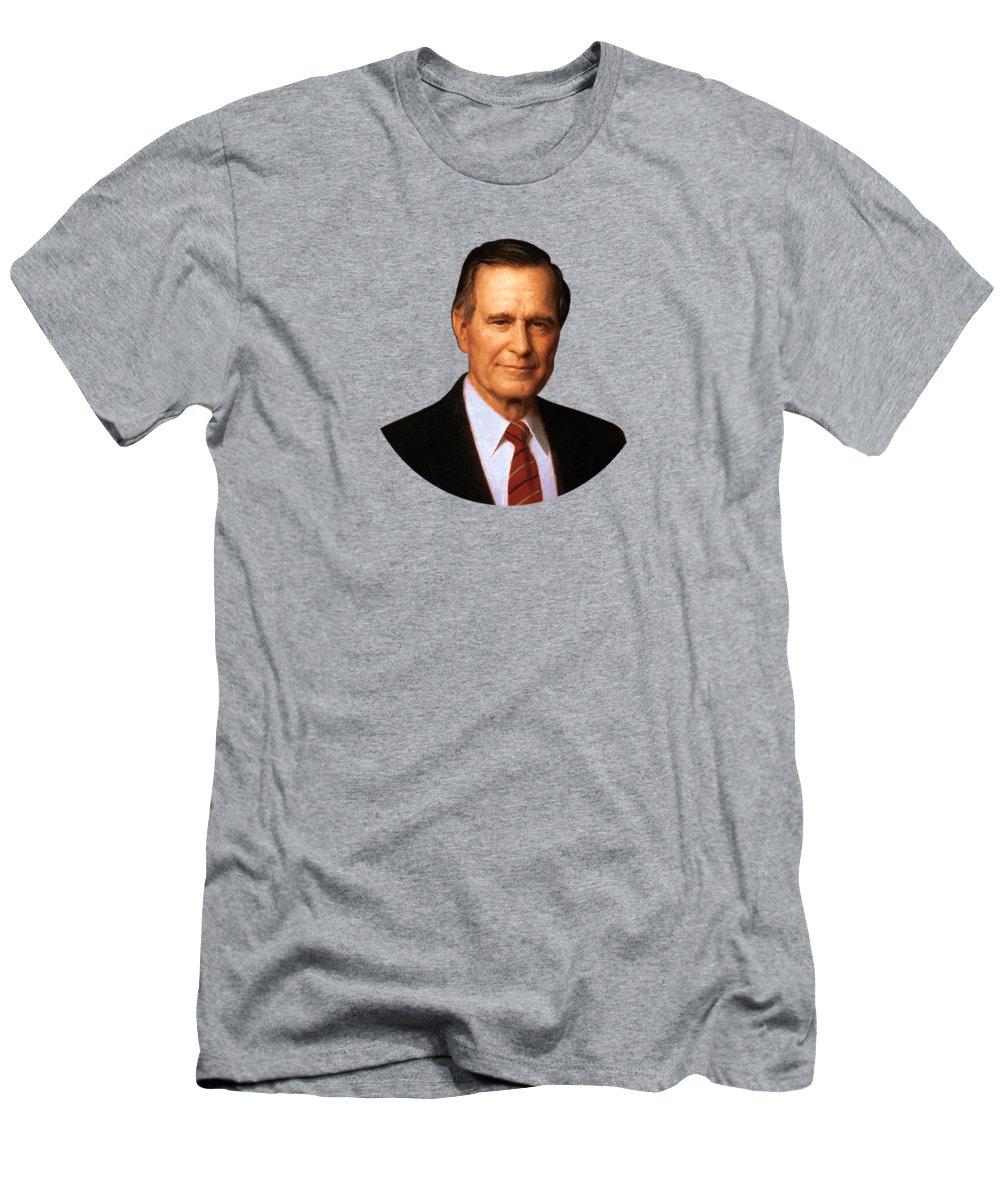 George Bush Slim Fit T-Shirts