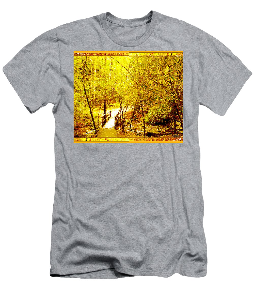 Golden Glow T-Shirt featuring the photograph Golden Glow by Seth Weaver