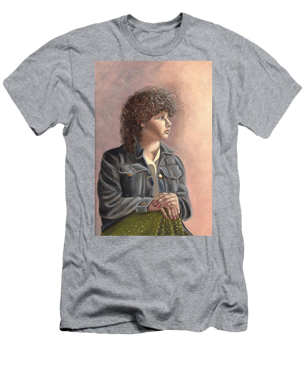 Men's T-Shirt (Athletic Fit) featuring the painting Grace by Toni Berry