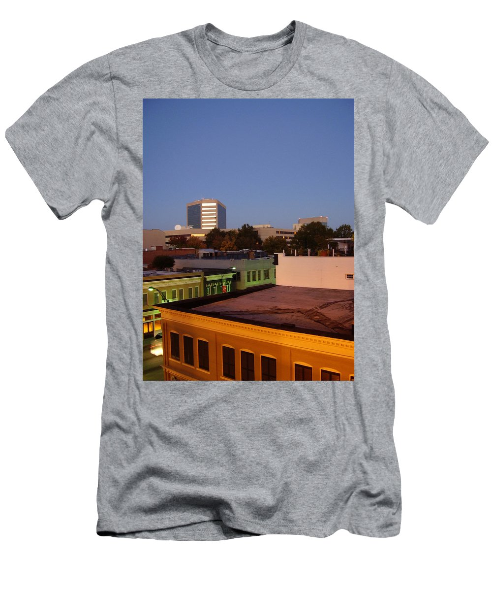 Greenville Men's T-Shirt (Athletic Fit) featuring the photograph Greenville by Flavia Westerwelle