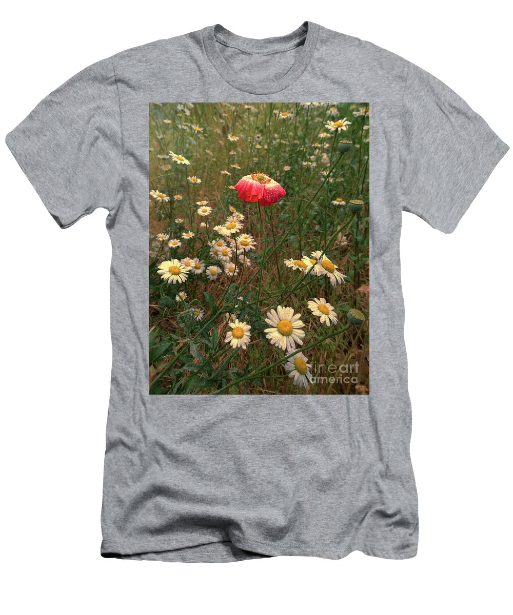 Poppy T-Shirt featuring the photograph Gypsies Are Getting Married by Jasna Buncic