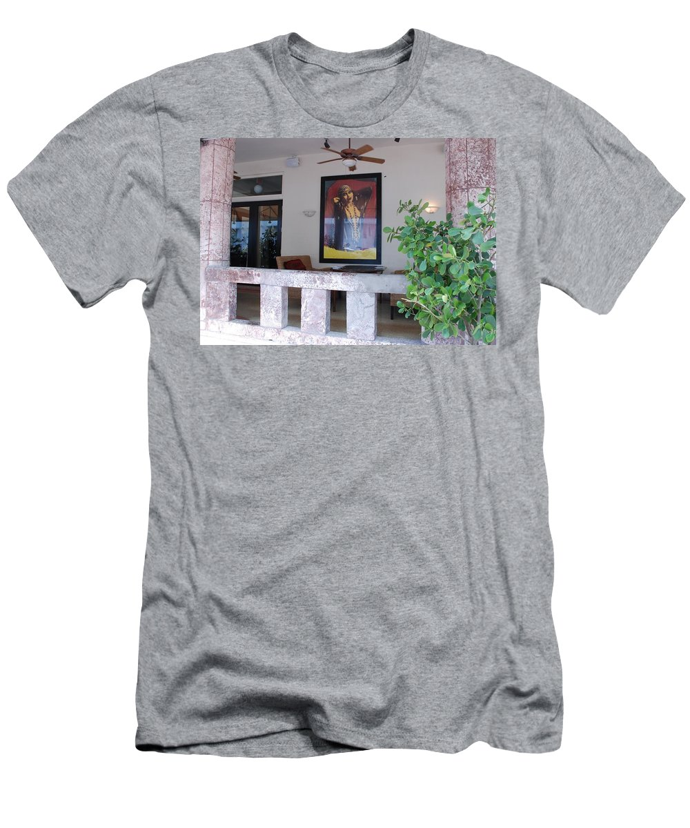 Art Men's T-Shirt (Athletic Fit) featuring the photograph Gypsy Lady by Rob Hans
