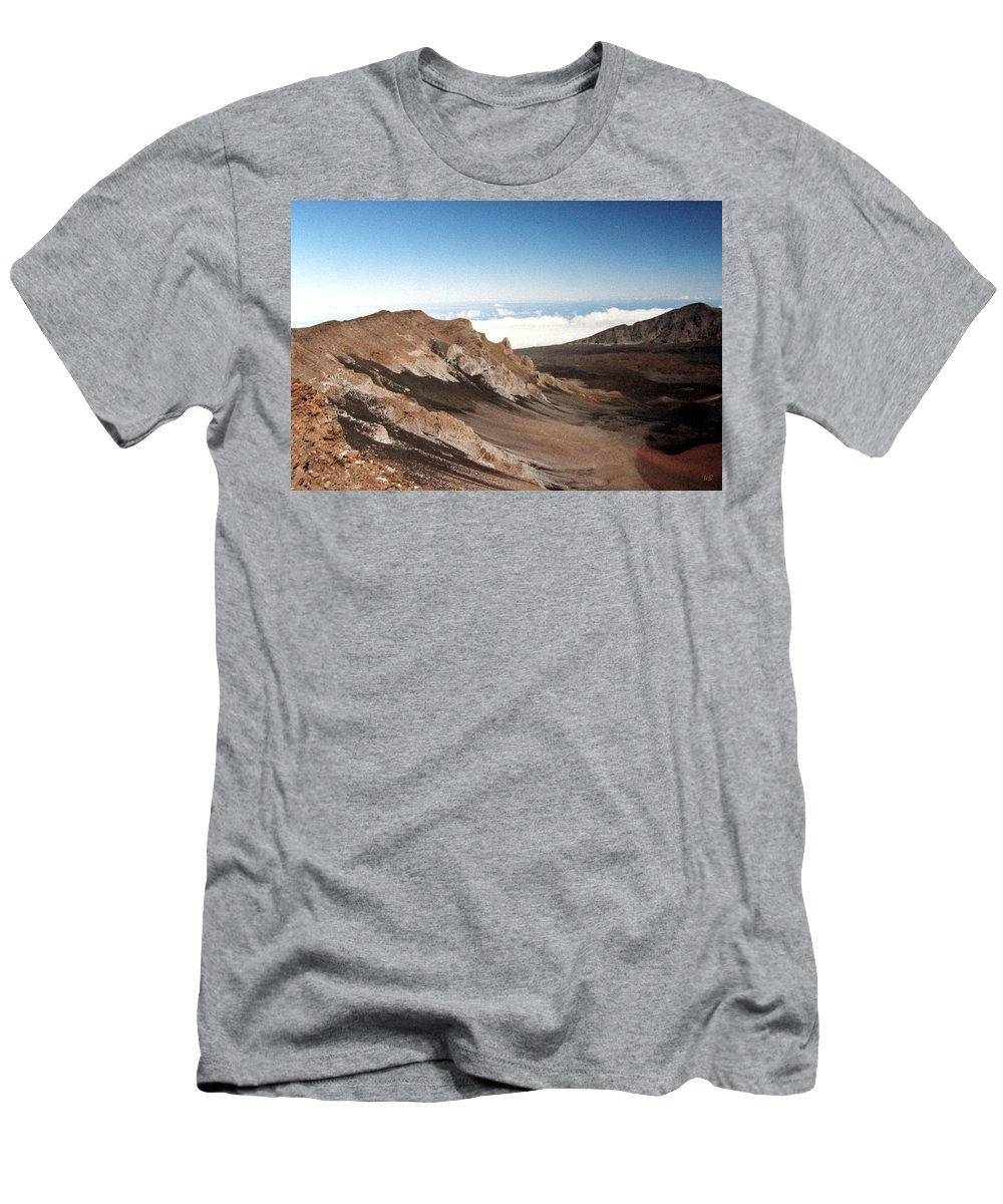 1986 Men's T-Shirt (Athletic Fit) featuring the photograph Haleakala Crater by Will Borden