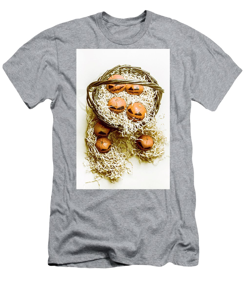 Halloween Men's T-Shirt (Athletic Fit) featuring the photograph Halloween Food Decoration by Jorgo Photography - Wall Art Gallery