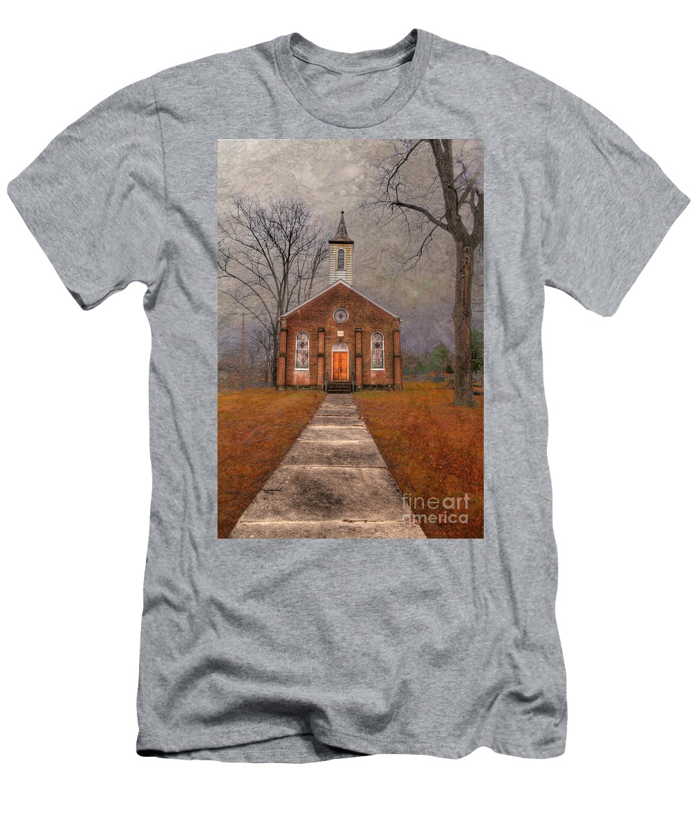 Travel T-Shirt featuring the photograph Hanover Luthern Chruch by Larry Braun