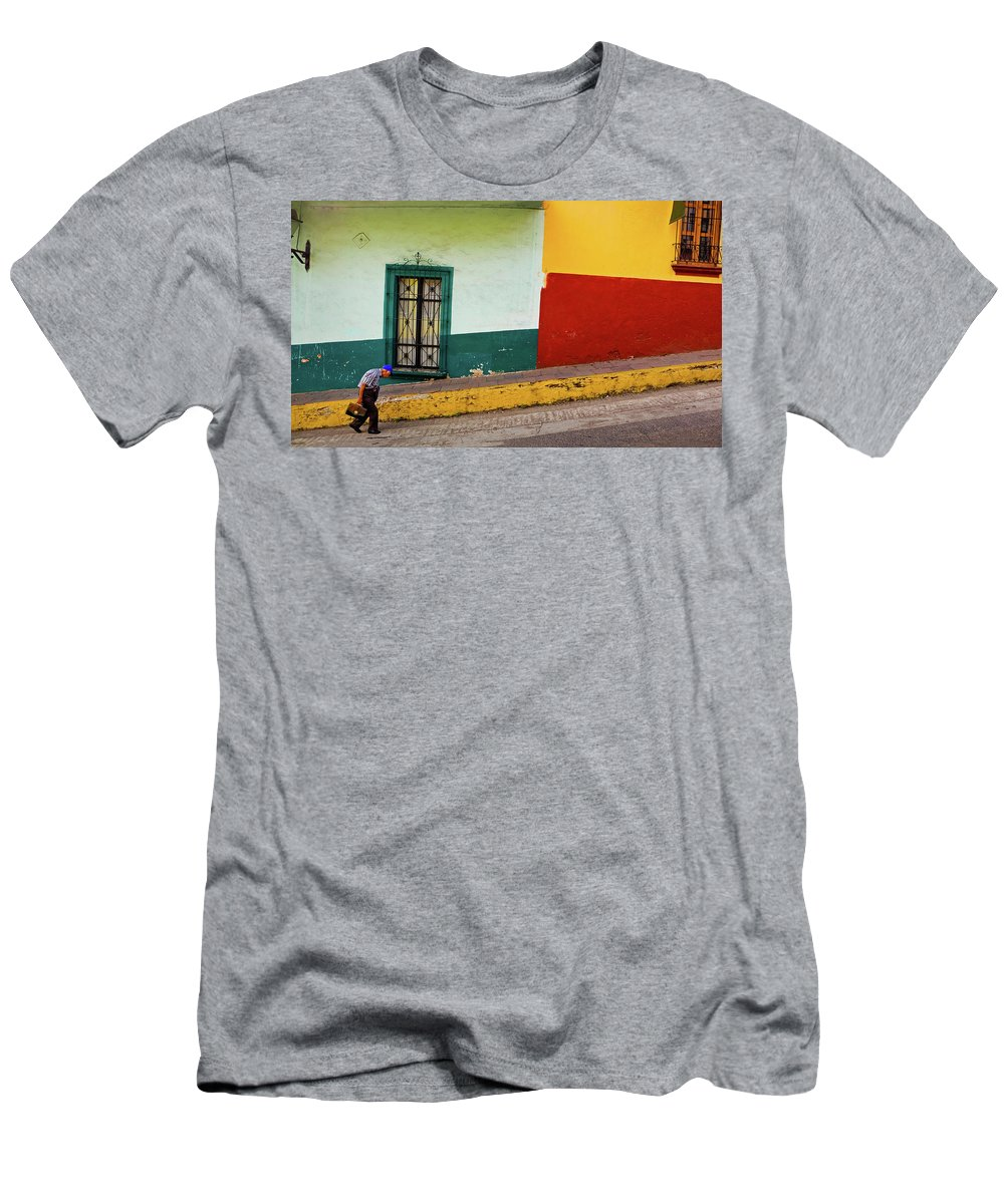 Man T-Shirt featuring the photograph Hard Knock Life by Skip Hunt