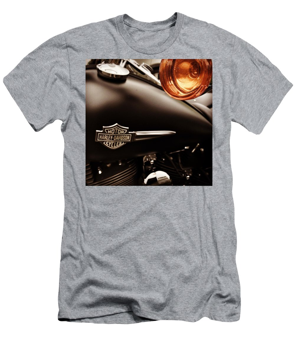 Harley Men's T-Shirt (Athletic Fit) featuring the photograph Harley by Carlton Boyce