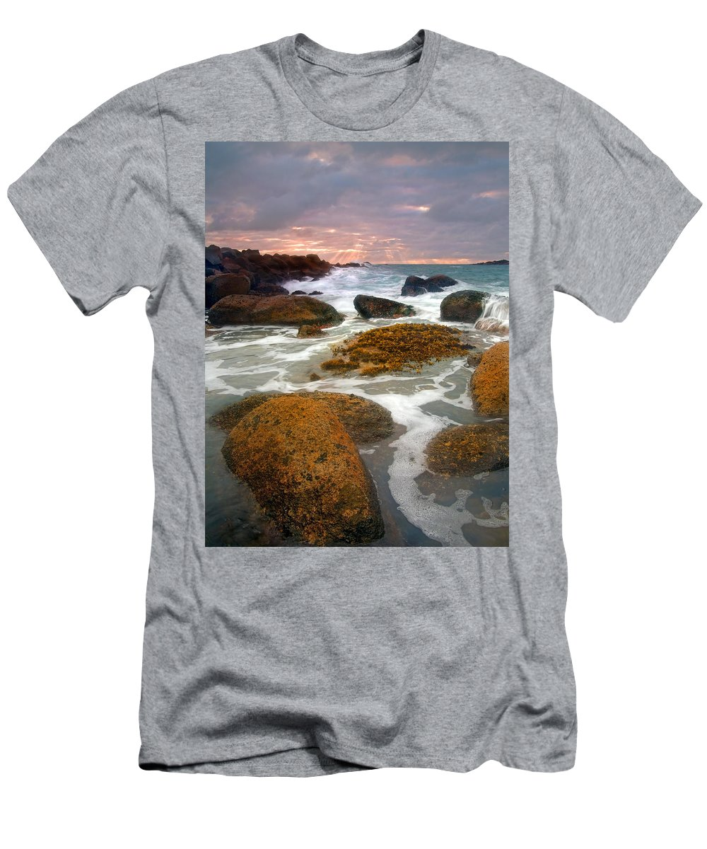 Sunrise T-Shirt featuring the photograph Heavenly Dawning by Mike Dawson