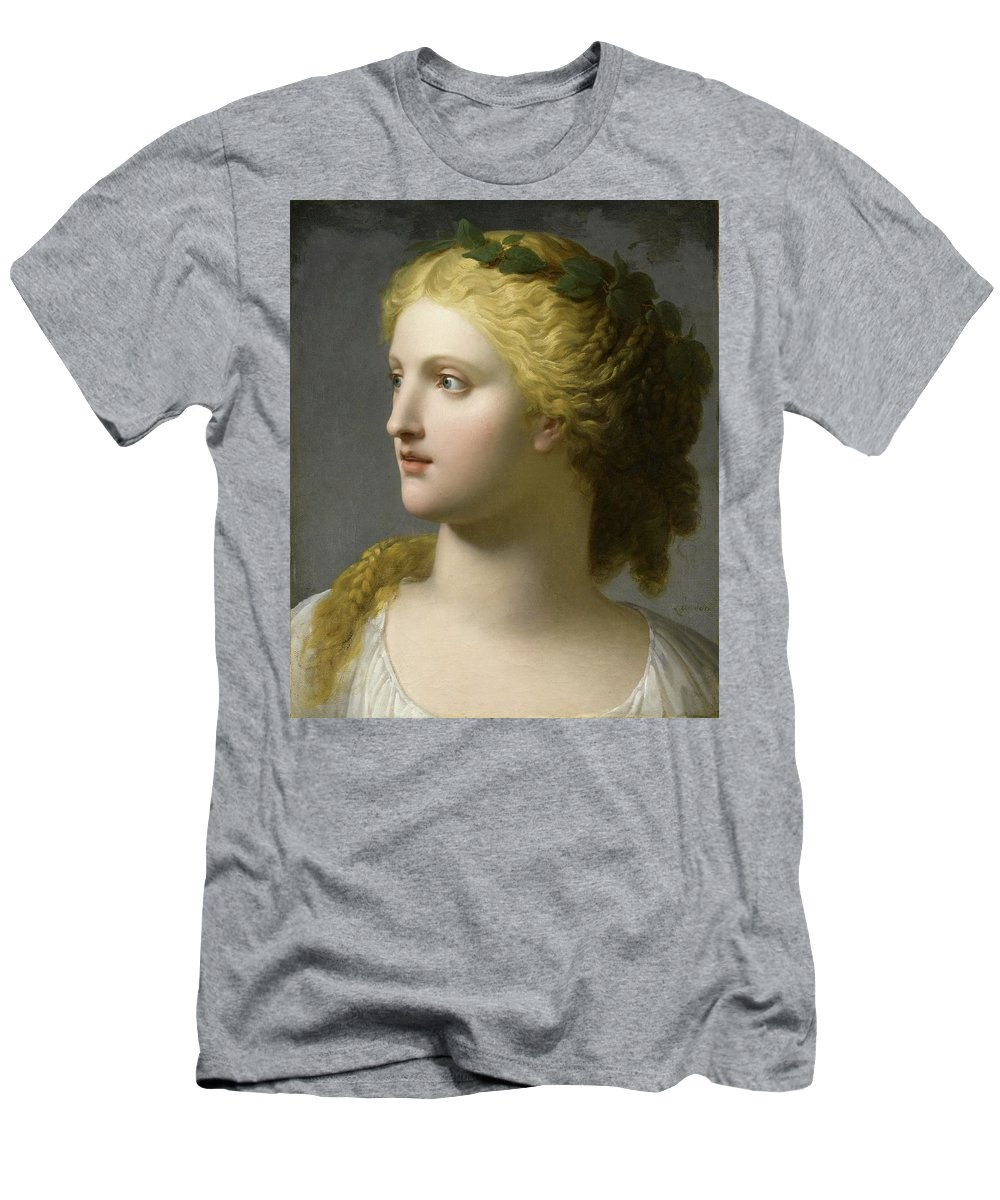 Helena Men's T-Shirt (Athletic Fit) featuring the painting Helena by Adam Asar