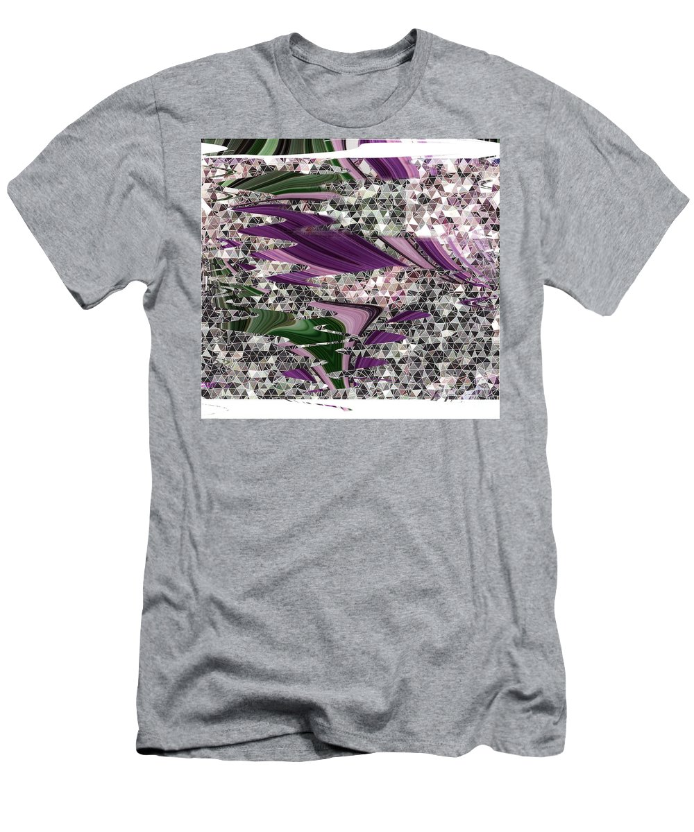 Green Men's T-Shirt (Athletic Fit) featuring the digital art Hodge Podge Art by Debra Lynch