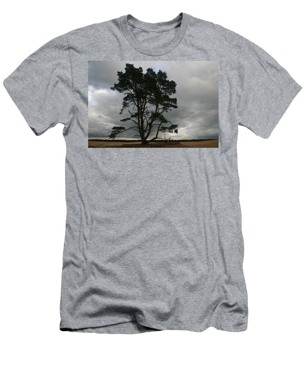 Storm Men's T-Shirt (Athletic Fit) featuring the photograph Holland Desert by Minaz Jantz
