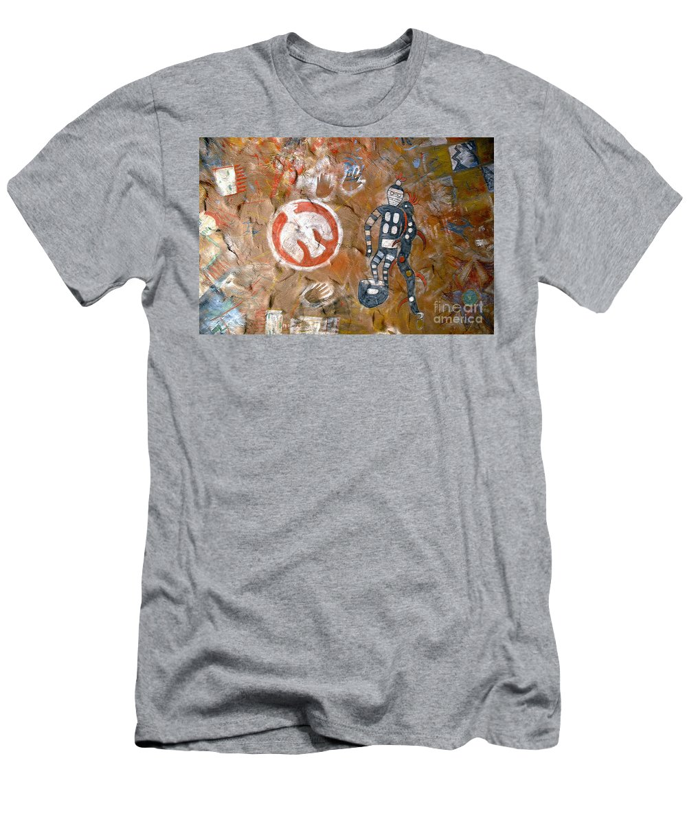 Hopi Indians Men's T-Shirt (Athletic Fit) featuring the photograph Hopi Dreams by David Lee Thompson
