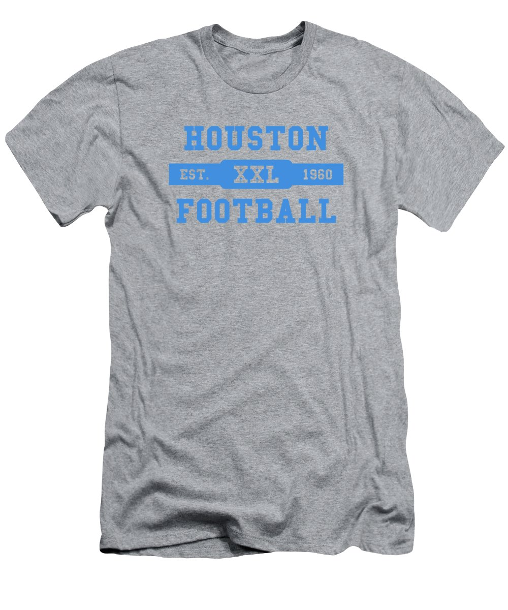 3300d55506c5e Oilers Men's T-Shirt (Athletic Fit) featuring the photograph Houston Oilers  Retro Shirt