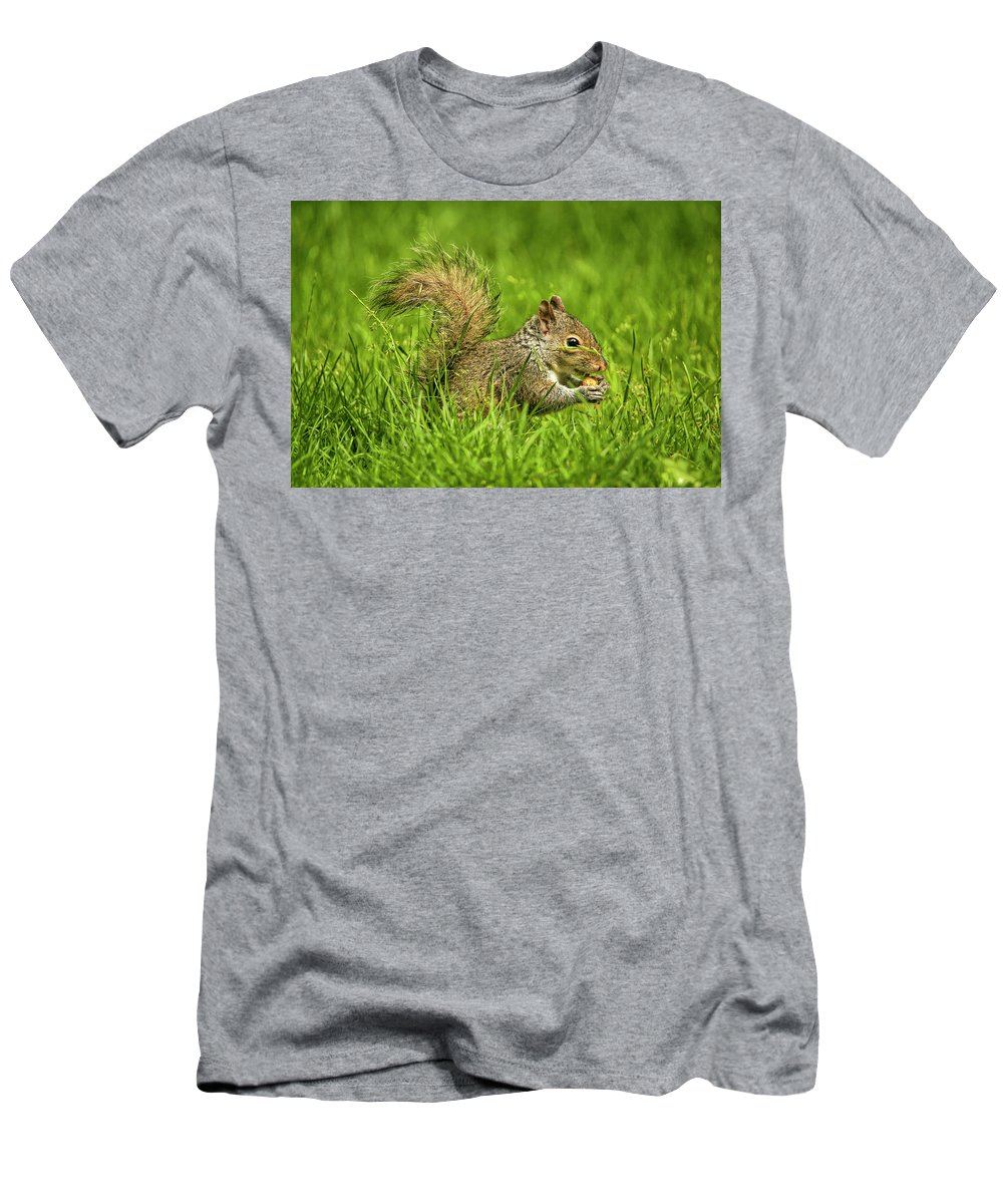 Recent Men's T-Shirt (Athletic Fit) featuring the photograph How Cute by Geraldine Scull