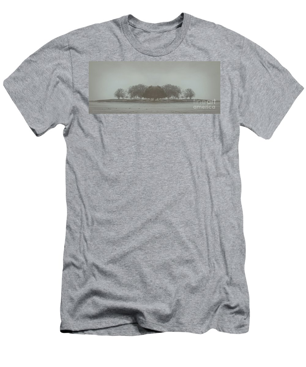 Landscape Men's T-Shirt (Athletic Fit) featuring the photograph I Will Walk You Home by Dana DiPasquale