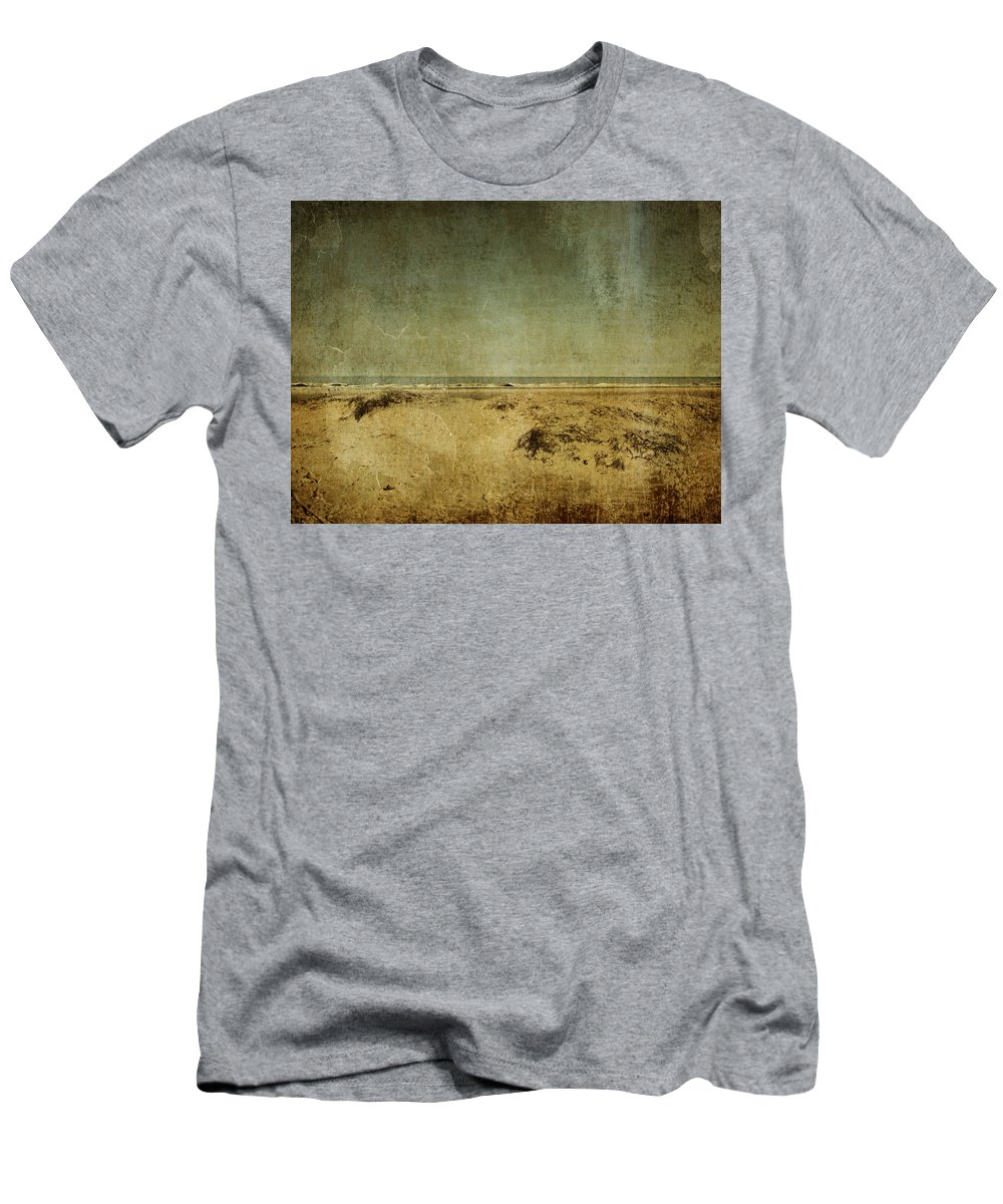Beach Men's T-Shirt (Athletic Fit) featuring the photograph I Wore Your Shirt by Dana DiPasquale