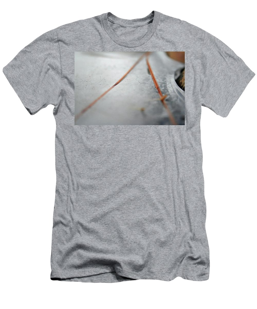 Men's T-Shirt (Athletic Fit) featuring the photograph ICE by Brandi Nierman