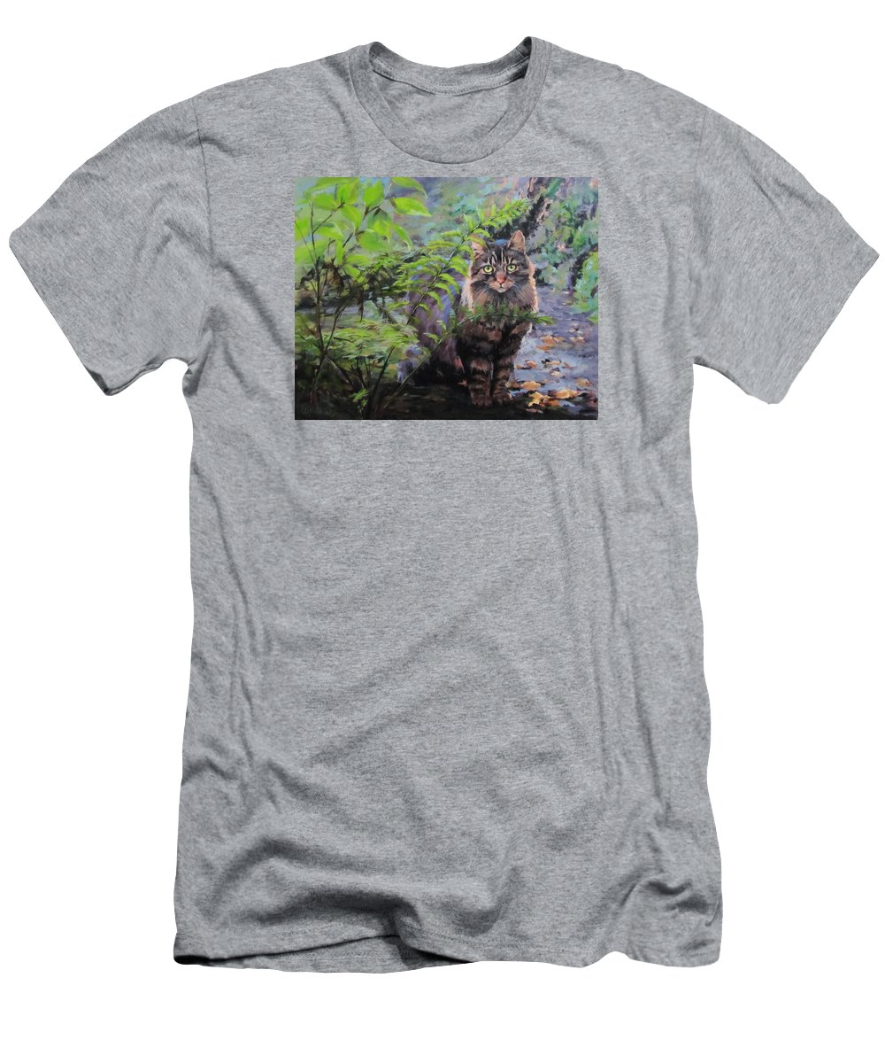 Forest T-Shirt featuring the painting In the Forest by Karen Ilari