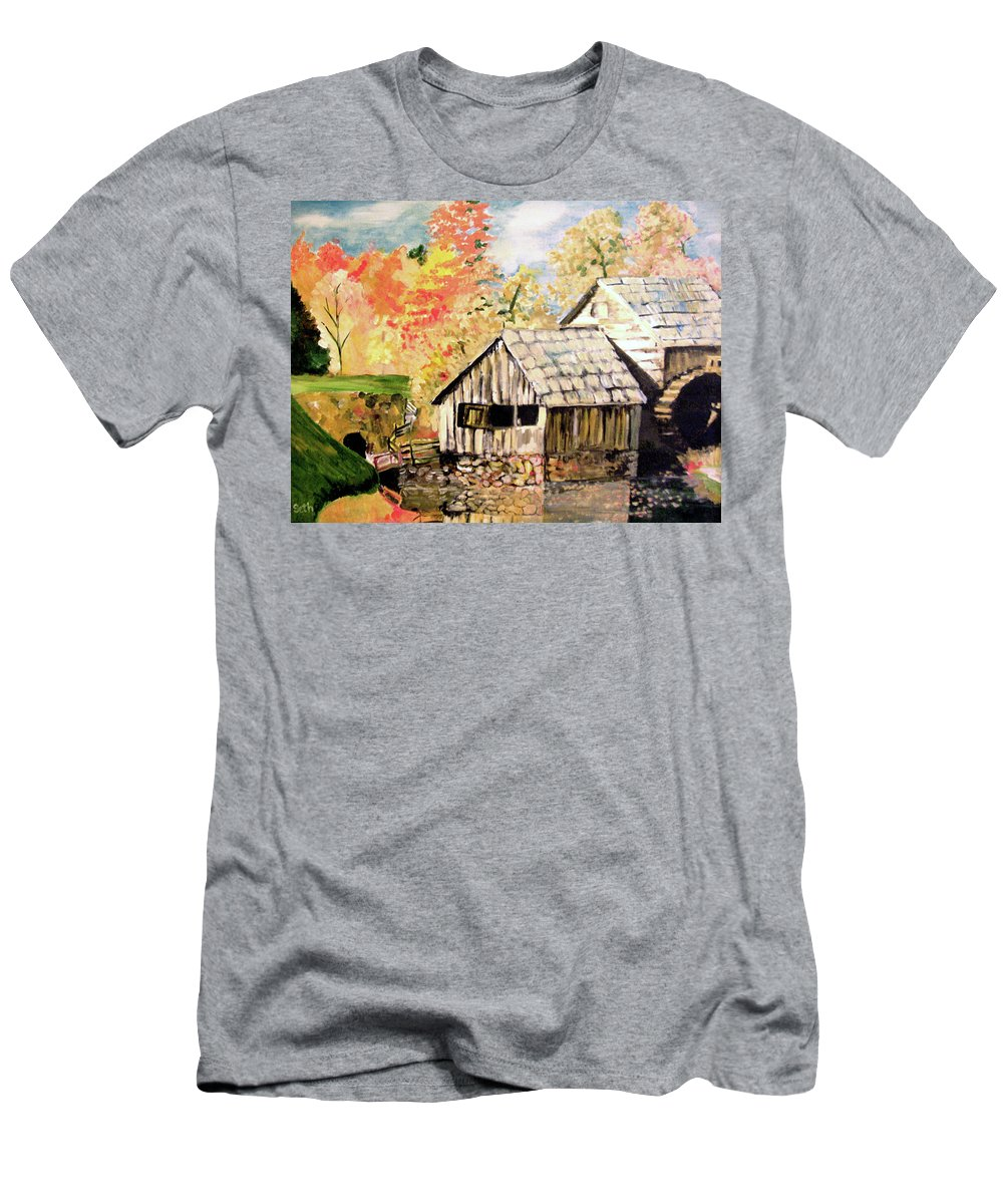 In The Quiet Moments T-Shirt featuring the painting In The Quiet Moments by Seth Weaver