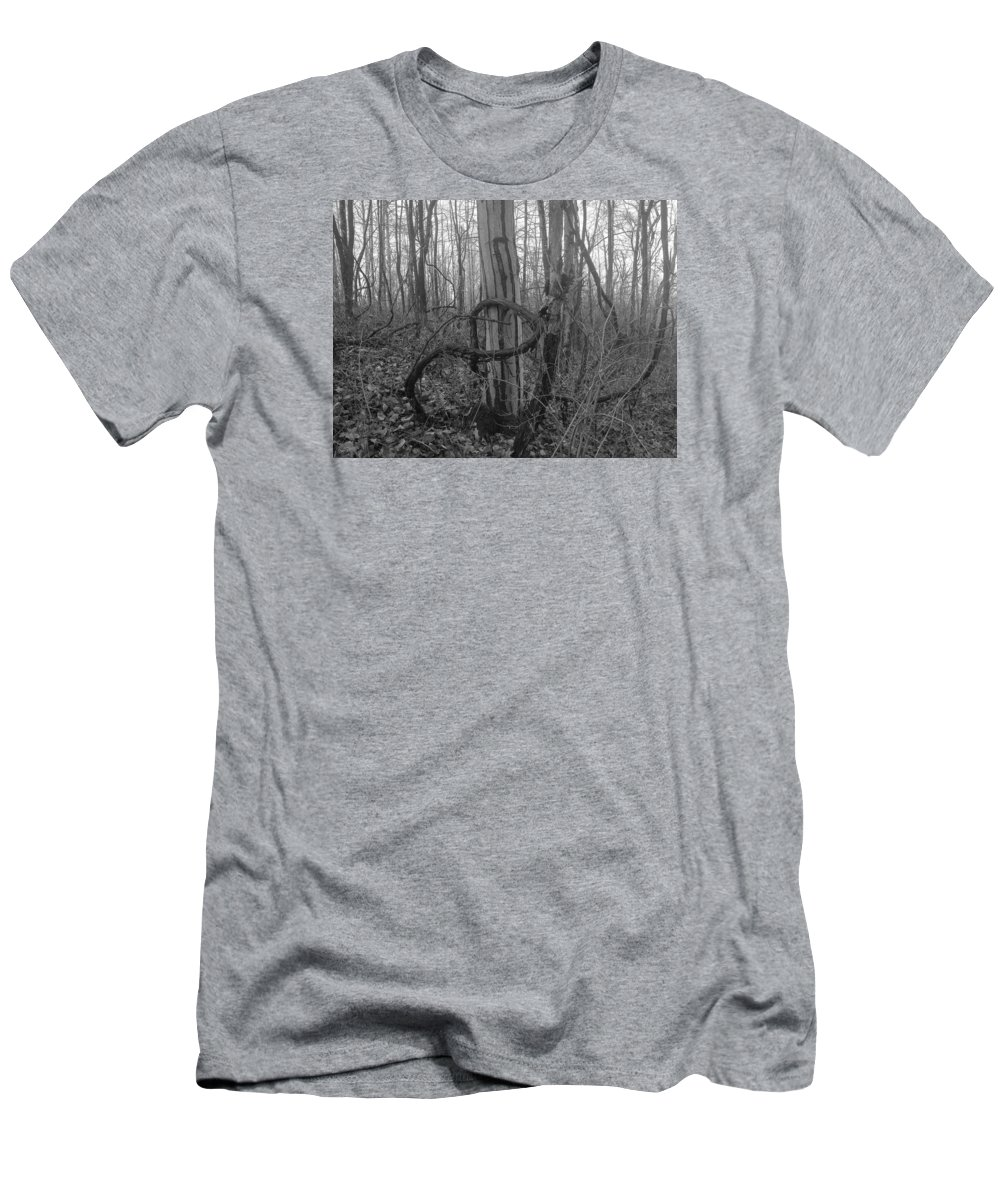 Infinity Men's T-Shirt (Athletic Fit) featuring the photograph Infinity Vine by Shelley Smith
