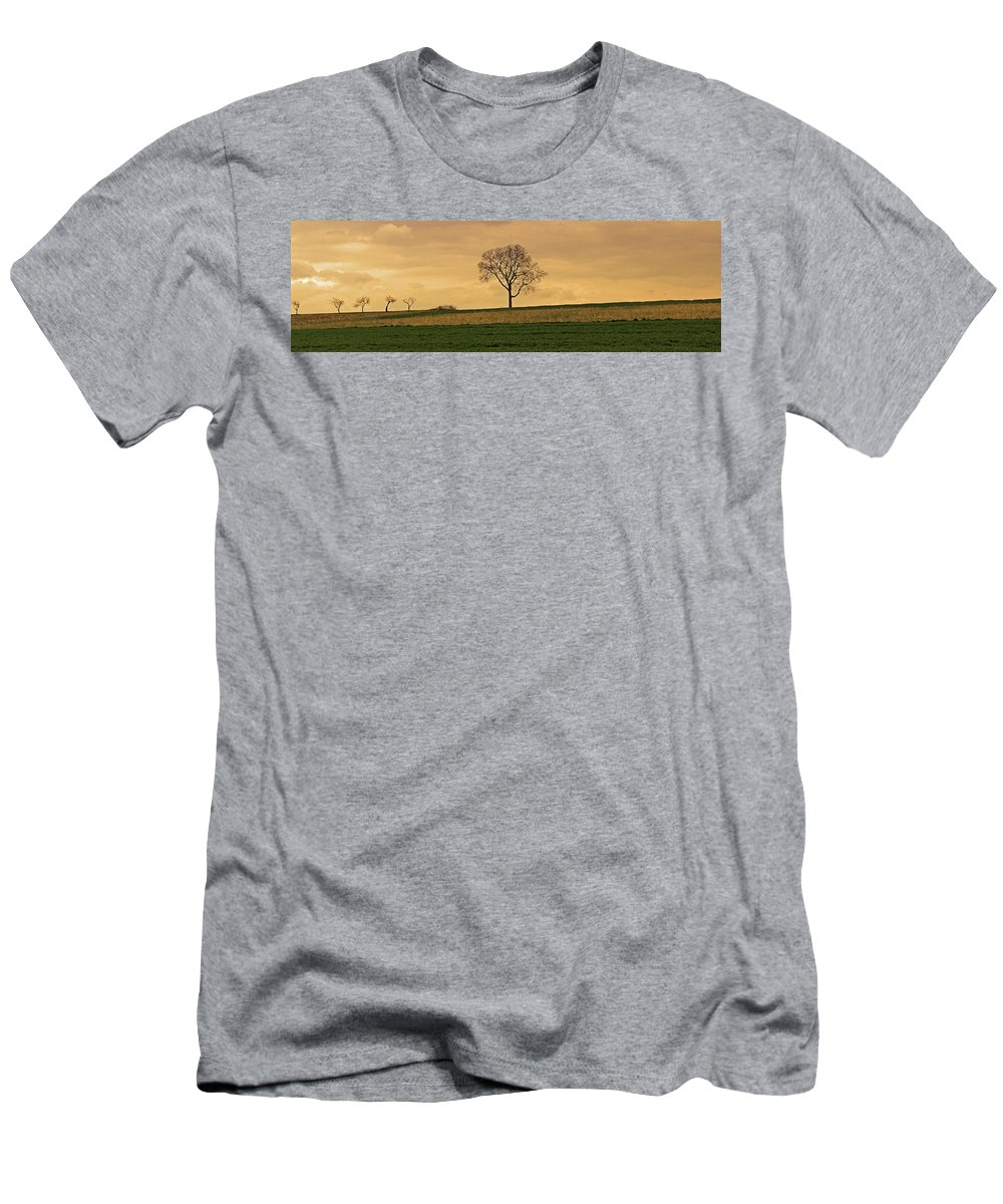 Lone Tree Men's T-Shirt (Athletic Fit) featuring the photograph Inspiration by Scott Mahon