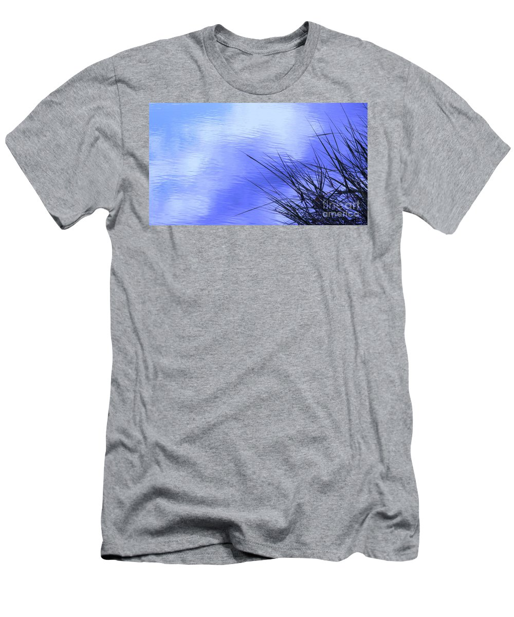Water Men's T-Shirt (Athletic Fit) featuring the photograph Initiation by Sybil Staples