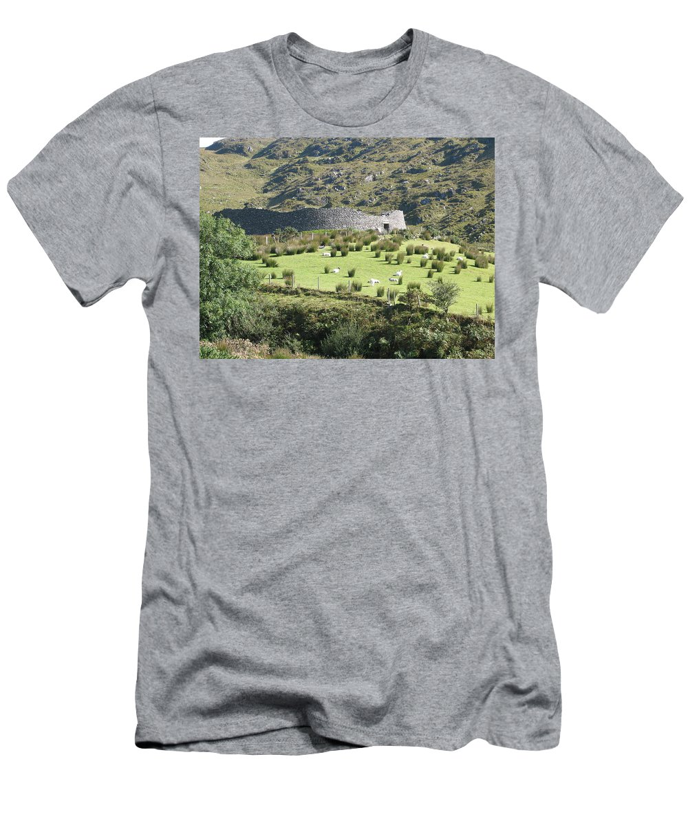 Ireland Men's T-Shirt (Athletic Fit) featuring the photograph Ireland by Kelly Mezzapelle