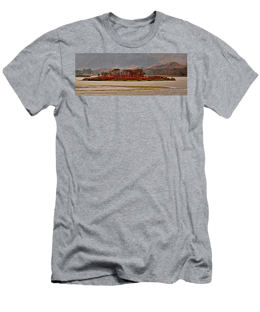 Island Men's T-Shirt (Athletic Fit) featuring the photograph Island by Galeria Trompiz