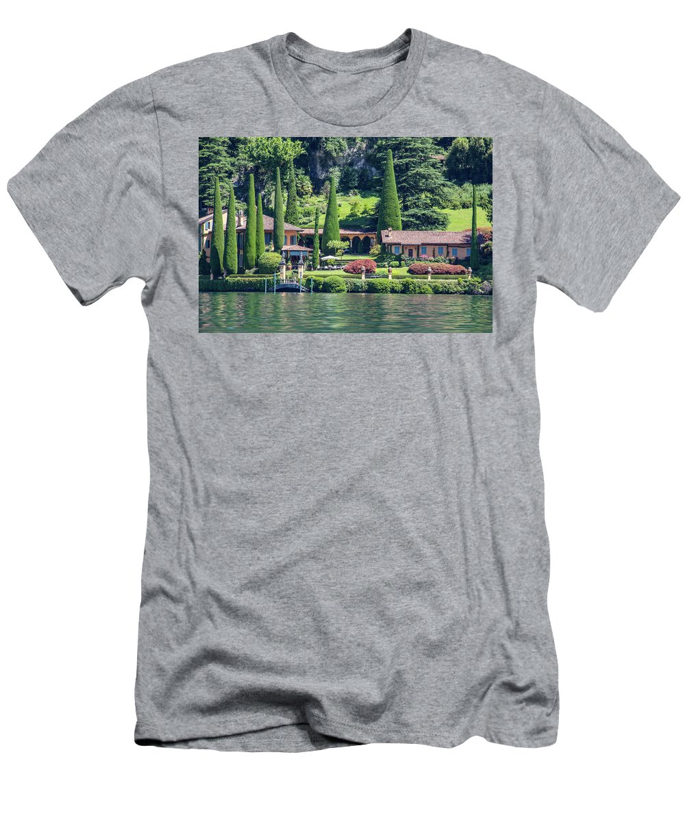 Home Men's T-Shirt (Athletic Fit) featuring the photograph Italy Home by Kathy Whitehurst