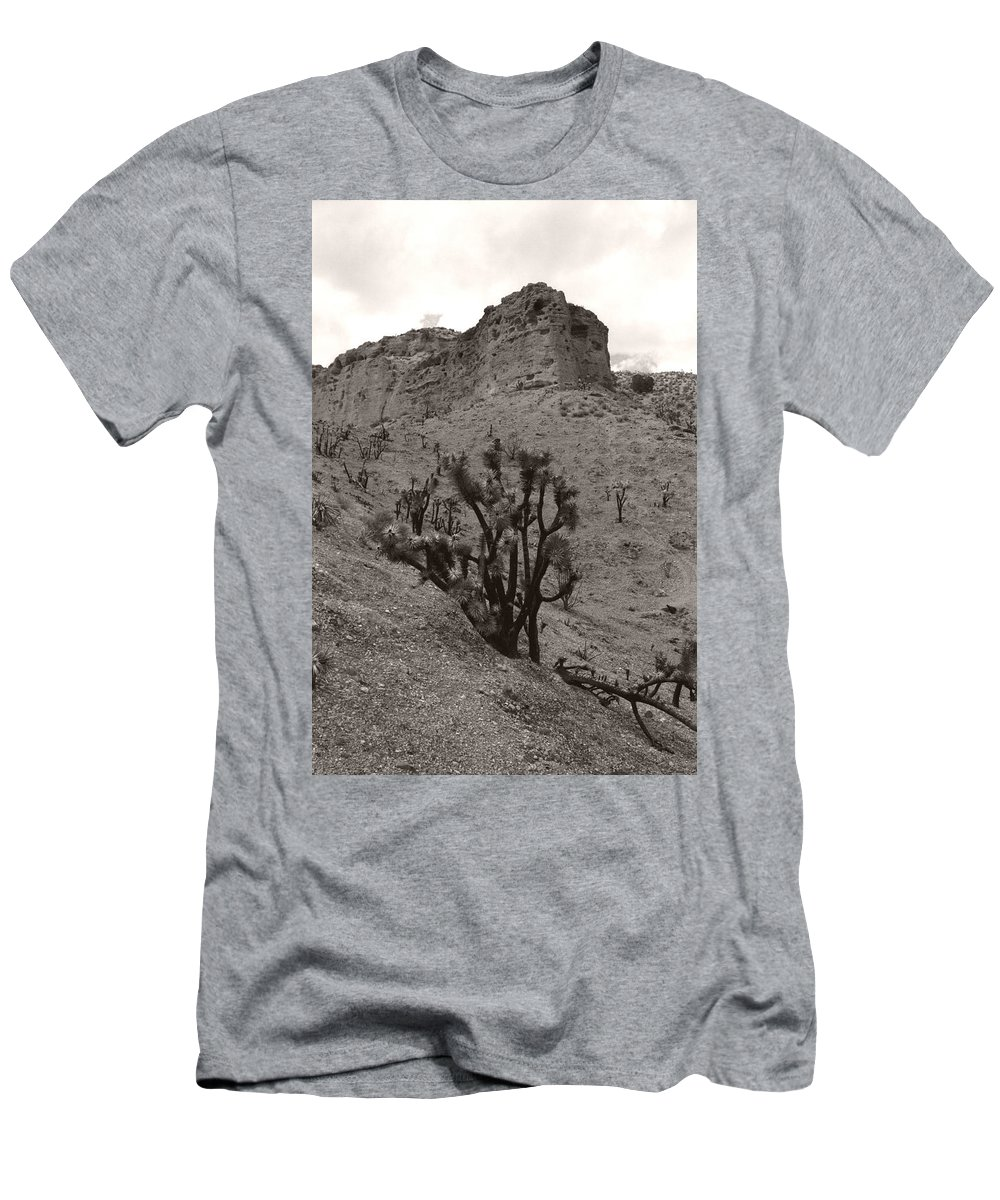 Men's T-Shirt (Athletic Fit) featuring the photograph Joshua Hillside Number Two by Heather Kirk