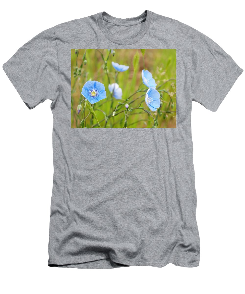 Flowers Men's T-Shirt (Athletic Fit) featuring the photograph June 6 2010 by Tara Turner