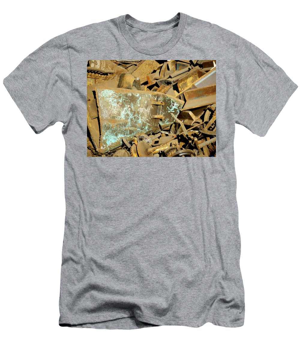 Junk Men's T-Shirt (Athletic Fit) featuring the photograph Junk 11 by Anita Burgermeister