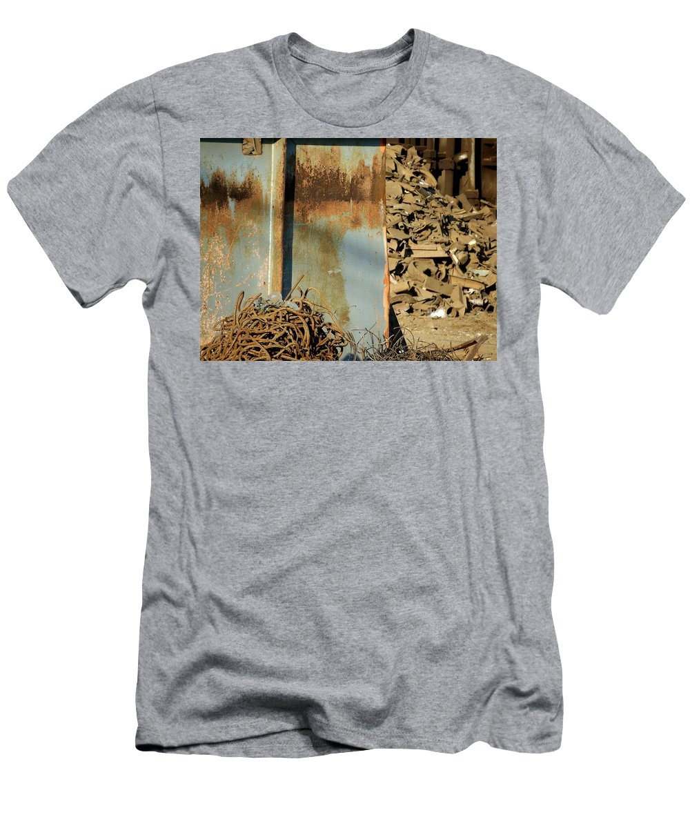 Junk Men's T-Shirt (Athletic Fit) featuring the photograph Junk 12 by Anita Burgermeister