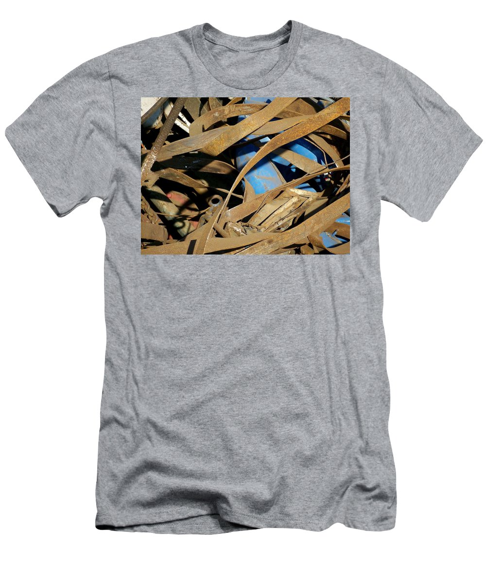 Junk Men's T-Shirt (Athletic Fit) featuring the photograph Junk 3 by Anita Burgermeister
