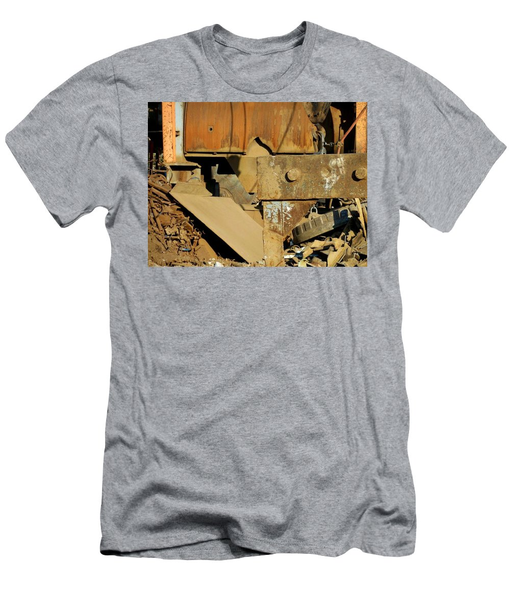 Junk Men's T-Shirt (Athletic Fit) featuring the photograph Junk 4 by Anita Burgermeister