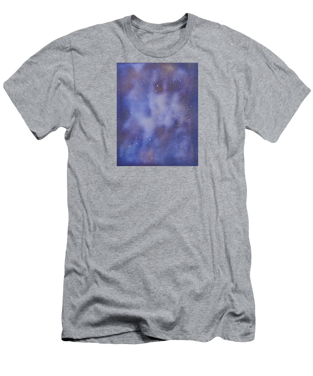Abstract T-Shirt featuring the painting Those Alien Eyes by J R Seymour