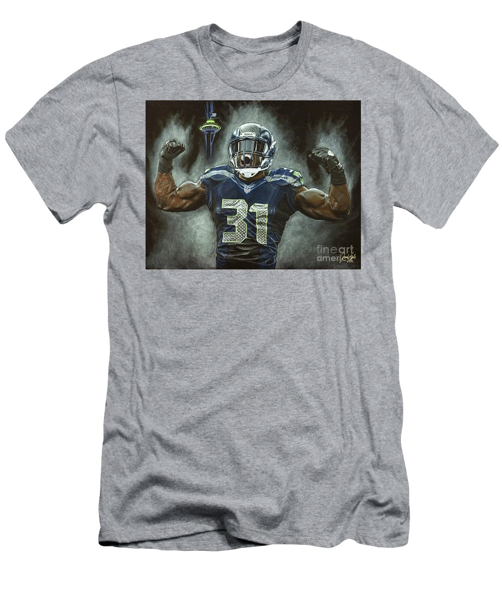 Kam Chancellor Seattle Seahawks T Shirt For Sale By Jordan