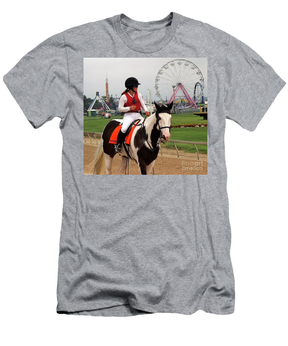 Kaymarie Kreidel Men's T-Shirt (Athletic Fit) featuring the photograph Kaymarie Kreidel - Timonium by Anthony Schafer