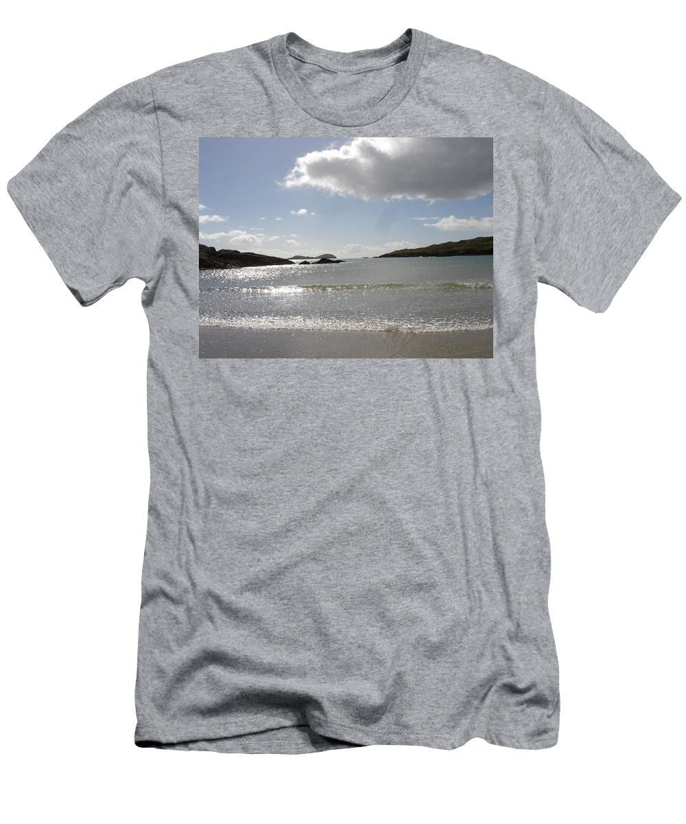 T-Shirt featuring the photograph Kerry Beach by Kelly Mezzapelle