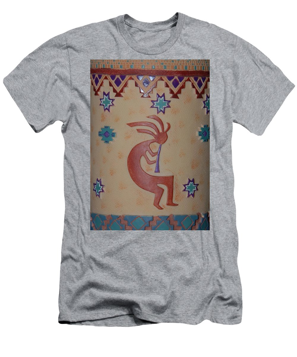 Kokopelli Men's T-Shirt (Athletic Fit) featuring the photograph Kokopelli by Rob Hans