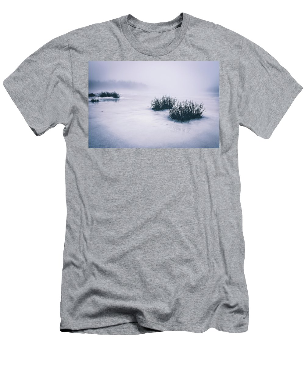 Ice Men's T-Shirt (Athletic Fit) featuring the photograph Lake Jean by Chad McKissick