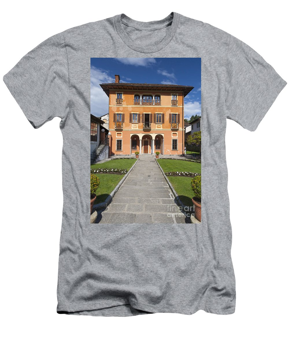 Europe Men's T-Shirt (Athletic Fit) featuring the photograph Lake Orta, Piedmont, Italy  by Marco Arduino