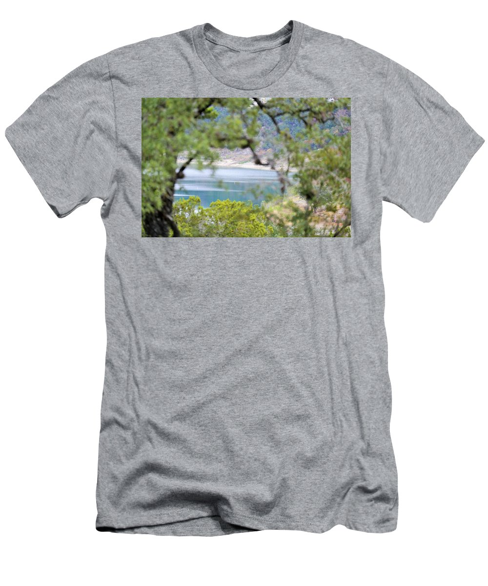 Men's T-Shirt (Athletic Fit) featuring the photograph Lake025 by Jeff Downs