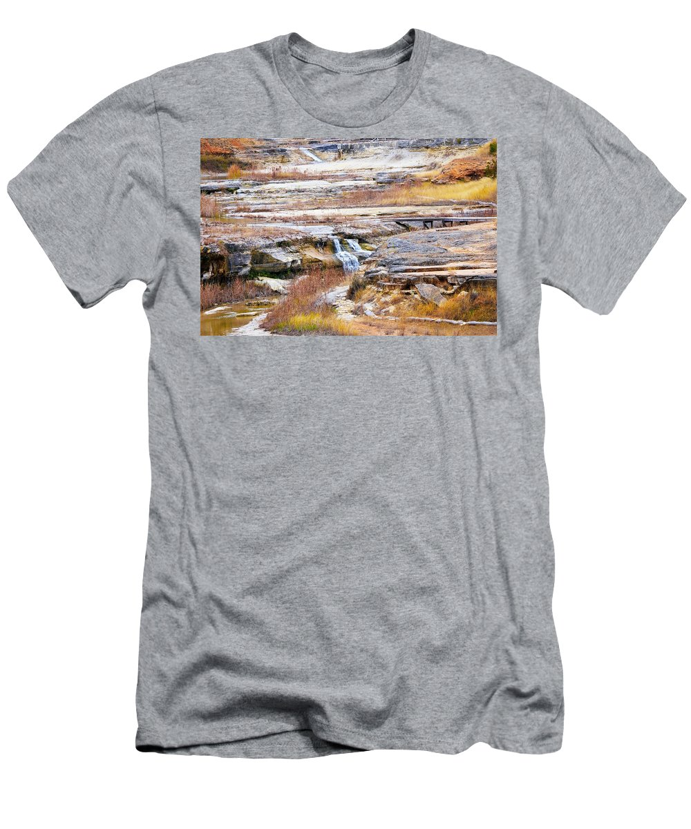 Men's T-Shirt (Athletic Fit) featuring the photograph Land 034 by Jeff Downs